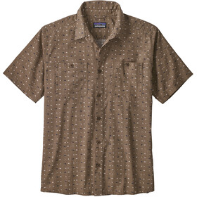 Patagonia M's Back Step Shirt Tiger Micro/Burnie Brown